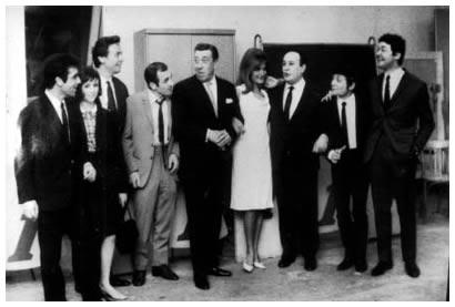 Perret, Fanon, Tino Rossi, Dalida, Fernandel, Aznavour, biraud